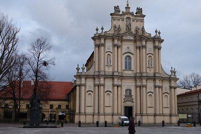 新世界通りヴィジドキ教会(ワルシャワ)