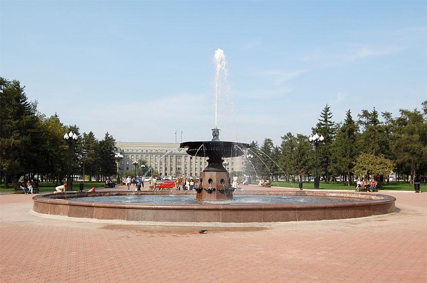 キーロフ広場(イルクーツク)