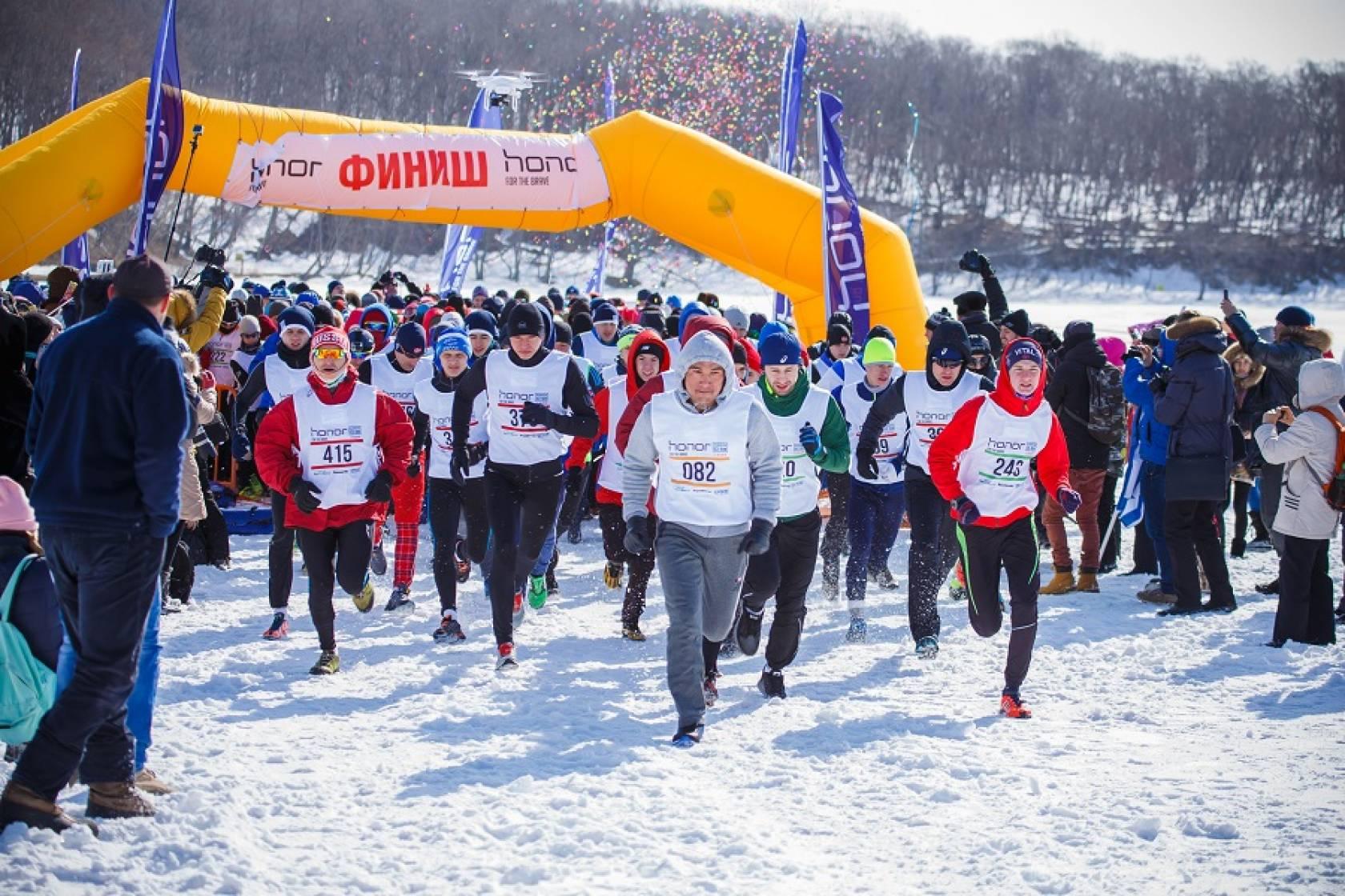 ウラジオストク氷上マラソン