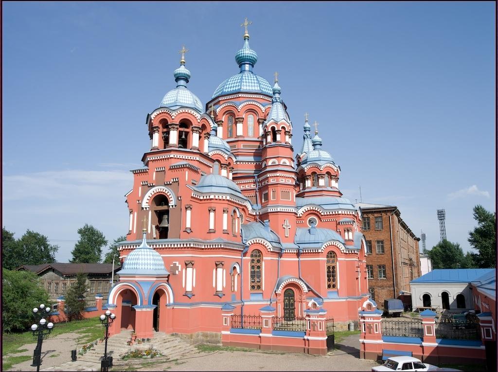 カザンスキー教会外観