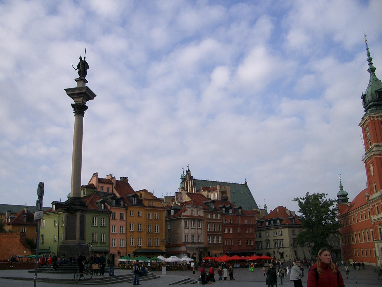 ワルシャワ市内