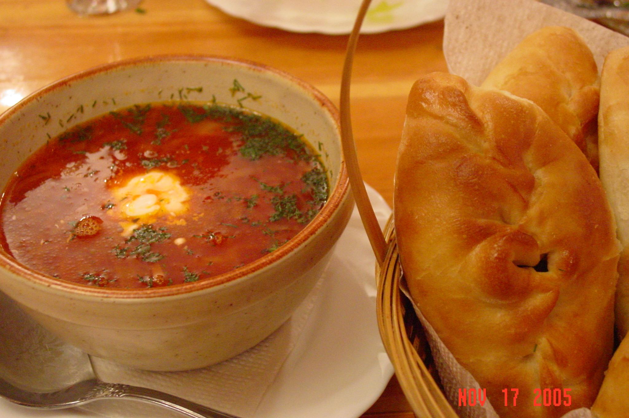 ロシア伝統料理 ※画像はイメージです