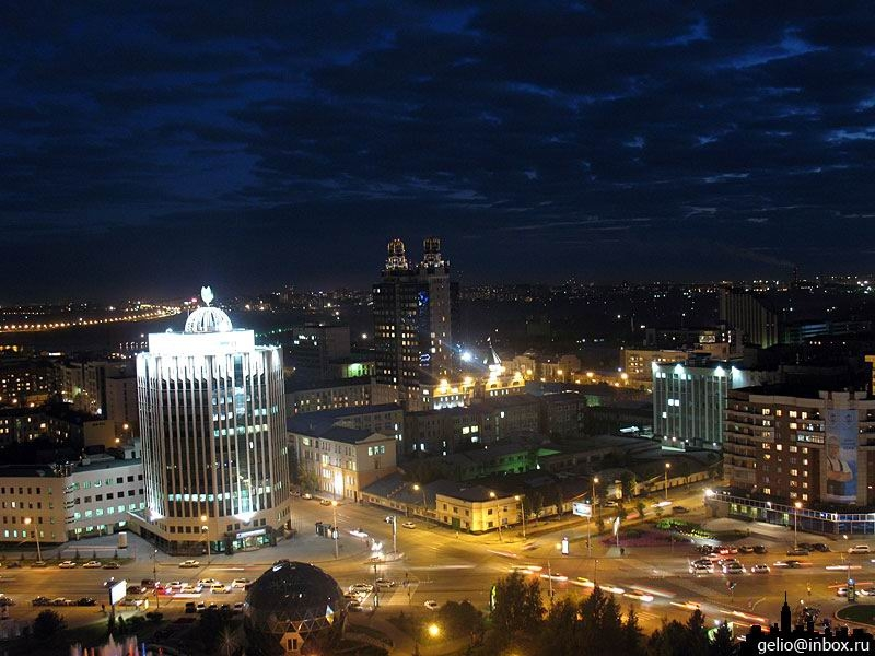 夜景 ノボシビルスク