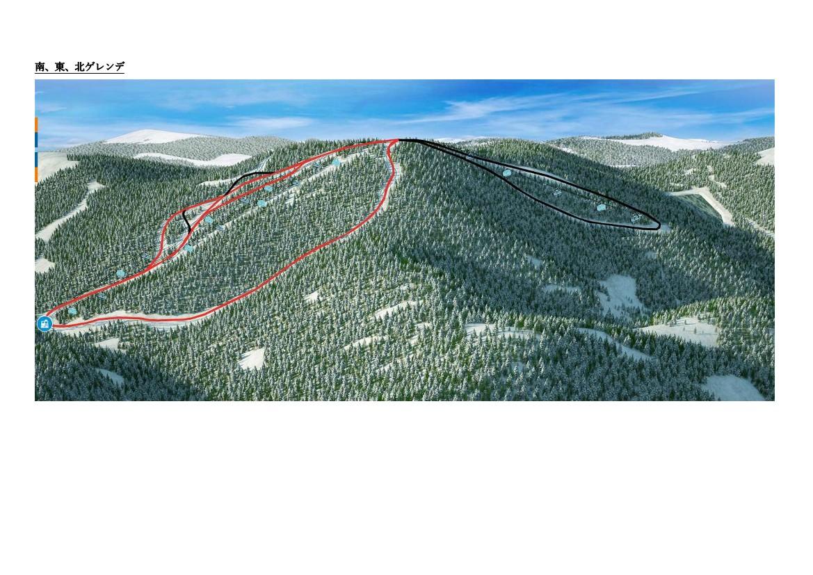 スキー場コース情報