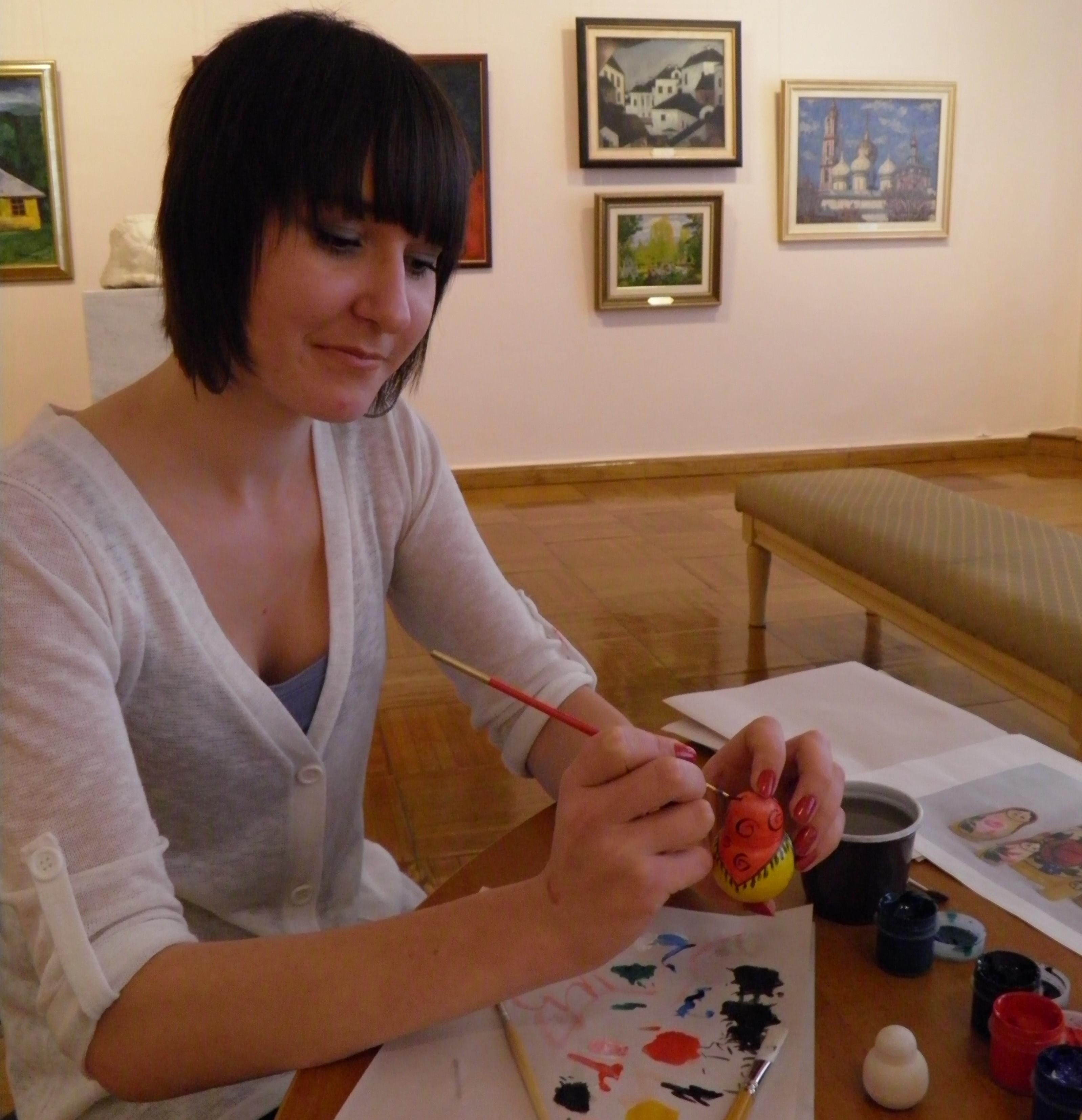 マトリョーシカ絵付け教室 ※画像はイメージです