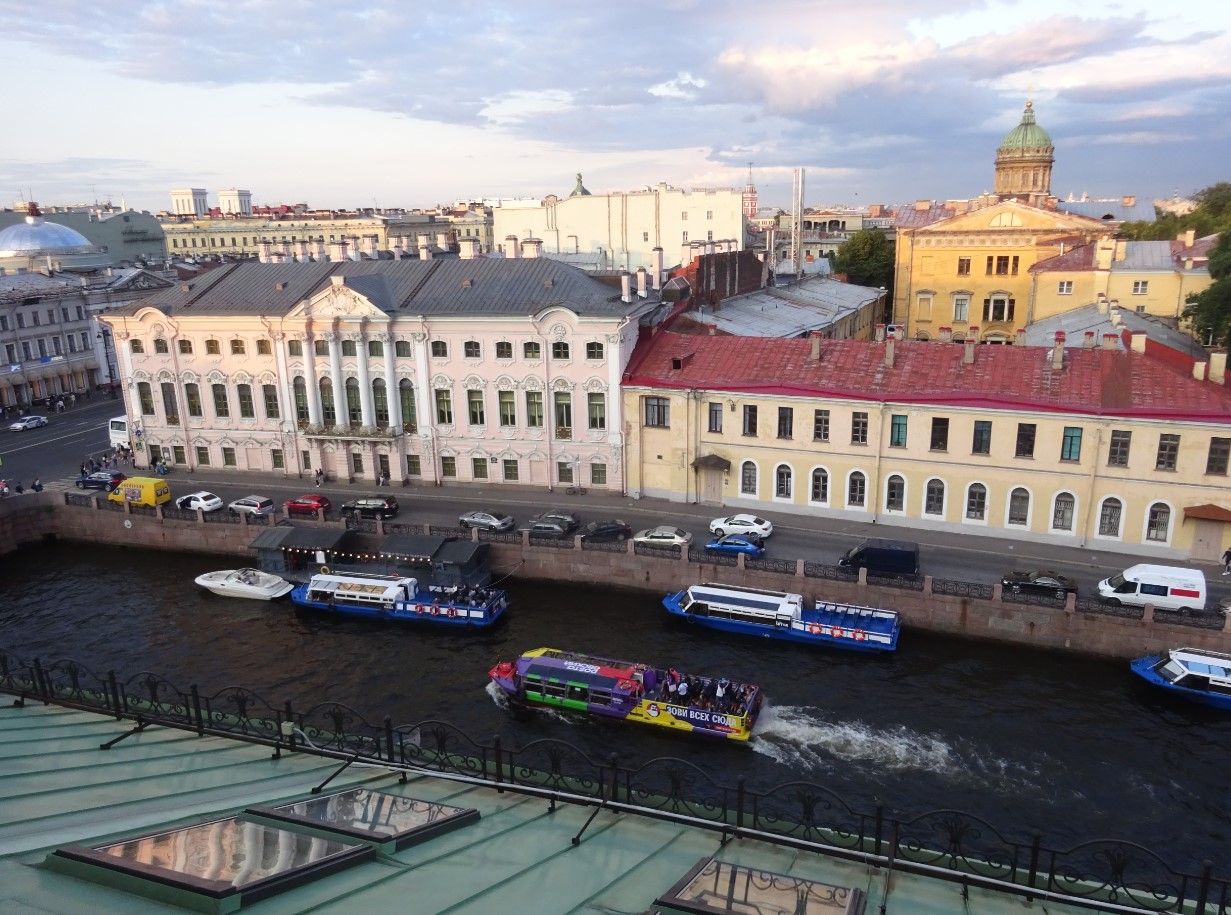サンクトペテルブルクの街並み