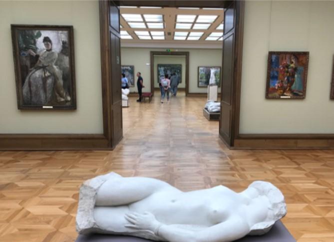 トレチャコフ美術館 本館 展示