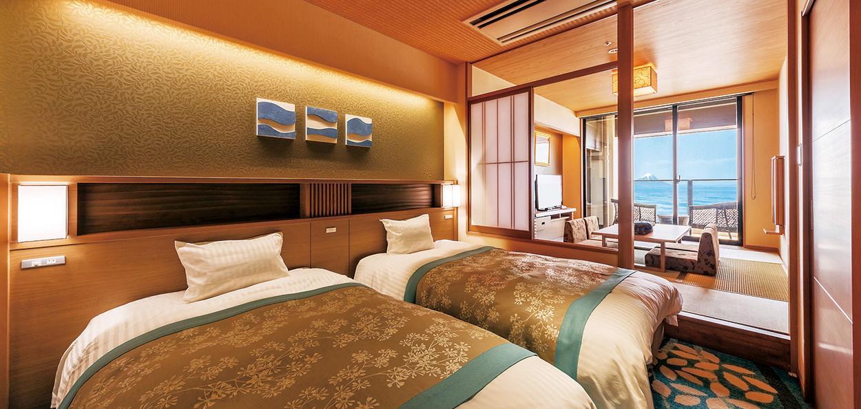 ホテル三日月客室一例